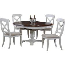 dining room round dining table with extension leaves butterfly