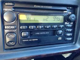 toyota 4runner radio 2002 4runner stereo unit w factory amp toyota 4runner