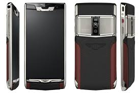 vertu phone 2016 vertu signature touch for bentley black red leather with steel