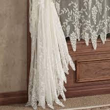 wisteria arbor lace window treatments