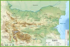 Mexico Physical Map by Large Physical Map Of Bulgaria