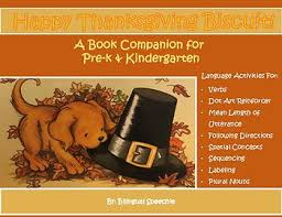no prep a book companion for happy thanksgiving biscuit by