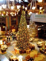 christmas lights at the disneyland resort hotels dad logic