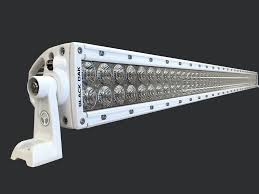boat led light bar black oak led 50 inch double row marine led light review