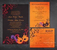 masquerade wedding invitations nicholas wedding invitations jacqueline