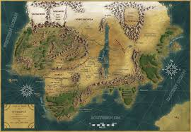 Dragon Age World Map by Howard U0027s Lore Conan Map Bloodfrenzy In Age Of Conan On Crom