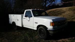 Ford F350 Service Truck - 1990 f350 ford truck with 7 3l diesel engine with utility bed for