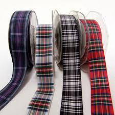 tartan ribbon house of tartan ribbon tartan polyester 25mm stewart dress tartan