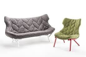 Patricia Urquiola Armchair Sofa And Armchair Foliage A Design By Patricia Urquiola For Kartell