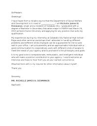 Cover Letter Samples Nursing  sample application letter volunteer     Cover letter sample for a fresh graduate of office administration  https   sites google com site huynhbahoc  http