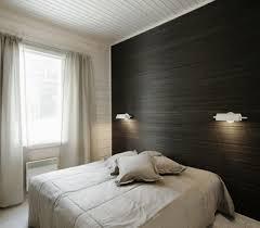 modern bedroom wallpaper one wall decoration trends black