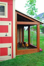 diy storage shed with chicken coop and run by chalkboardblue