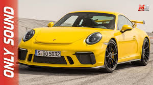 new porsche 911 gt3 2017 first test drive on track only sound