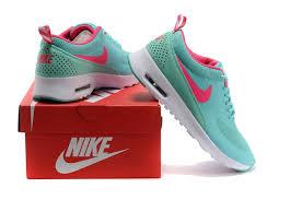 low price nike air max thea print womens shoes 2014 neapple green