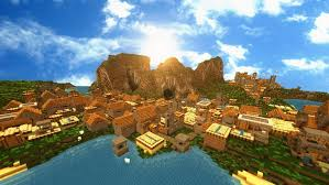 Minecraft City Maps Minecraft Npc City By Theevollutions On Deviantart