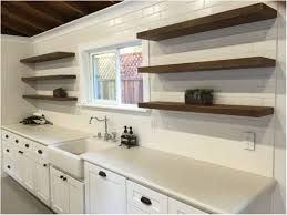 Open Kitchen Shelving Ideas Kitchen Countertop Shelf Ideas Refresheddesigns Trend To Try Open