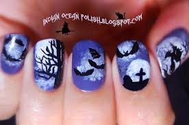 indian ocean polish a few halloween nail art ideas for 2013