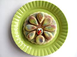 easy thanksgiving cookies 3 d turkey cookies the monday box