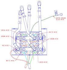 100 winch relay wiring diagram atv winch wiring diagram