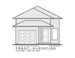 2 bedroom raised bungalow house plan rb329 870 sq feet