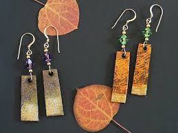 paper mache earrings how to make paper mache earrings