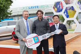 Kia Open Kia Cars Keep Australian Open 2012 Moving Kia Buzz