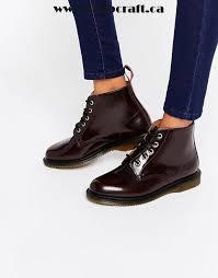 s fold boots canada cherry shoes dr martens kensington flora burgundy