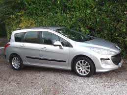 peugeot 308 2004 peugeot 308 sw 1 6 hdi sr 2009 59 well looked after estate in