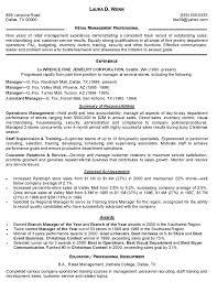 Sample Resume Management Position by 10 Sample Resume Retail Cover Letter Writing Resume Sample