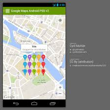android map maps android psd v2 cyril mottier