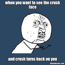Meme Character - when you want to see the crush face create your own meme