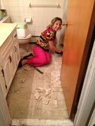 How To Level A Bathroom Floor How To Replace Bathroom Floor Justsingit Com