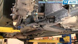 how to install replace lower control arm and ball joint chevy