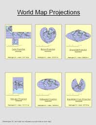 Map Projection Geography Blog Of Takafumi Lab 5 Map Projections