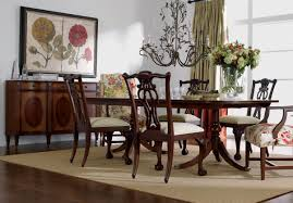 dining room ethan allen country french dining table and chairs