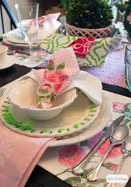 spring tablescapes create and babble