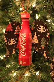 diy coca cola aluminum bottle ornament bargainbriana