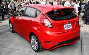 first look 2014 ford fiesta st automobile magazine