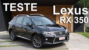 lexus rx 350 se l review lexus rx 350 f sport agrada pelo design e conforto youtube