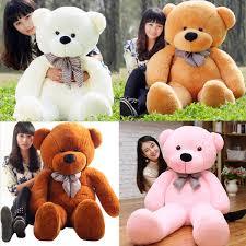 big teddy hot sale big teddy bow tie cuddly soft plush doll stuffed