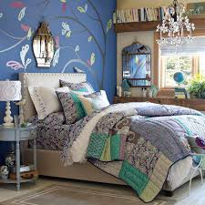 royal blue is the perfect paint color for a teenage girls bedroom