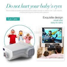 2016 christmas gift portable mini projector with usb hdmi av