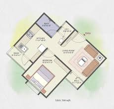 1 bhk floor plan welcome to bhagyalakshmi