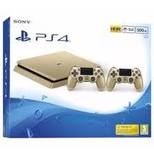 Ps 4 Ps4 Slim 500 Gb Gold Original Garansi Resmi Sony Pes 2018 ps4 slim gold consoles ps4 a venda em oferta o melhor pre礑o no