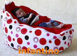2017 baby bean bag baby beanbag bouncer infant sleeping bed red