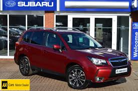 red subaru forester 2015 used subaru forester red for sale motors co uk