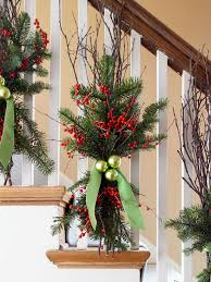 Plant Used As A Christmas Decoration Top 40 Stunning Christmas Decorating Ideas For Staircase