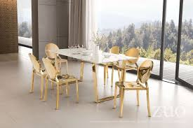atlas stone and gold dining table from zuo coleman furniture