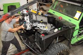 Old Ford Truck Engines - old bronco with a new 5 0l coyote ford truck zone
