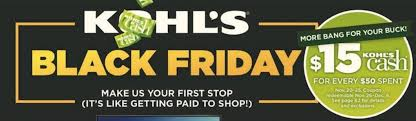 kohl s official black friday ad the best deals clark deals